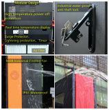 Comitato di tocco impermeabile esterno dello schermo dell'affissione a cristalli liquidi dello schermo attivabile al tatto della visualizzazione di LED del basamento