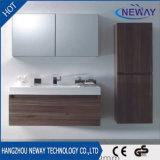 Тип установленный стеной новый конструкции меламина шкаф ванной комнаты