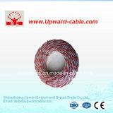 Pvc van Rvs isoleerde de Flexibele Tweeling Verdraaide Draad van de Kabel van de Elektro/Stroom