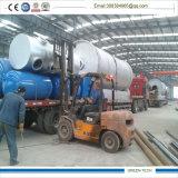 Desperdício ao equipamento 10tpd da pirólise da refinaria da energia