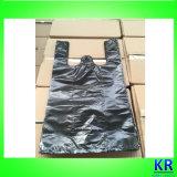 Пластичные мешки несущей, хозяйственные сумки HDPE с ручкой