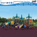 De commerciële OpenluchtApparatuur van de Dia van de Jonge geitjes van Speelplaatsen Plastic hd-039A