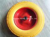 Roda da espuma do plutônio do Wheelbarrow da fábrica 350-8 de China