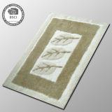 Couvre-tapis de porte antidérapage de qualité de tapis à longs poils de textile à la maison de plancher
