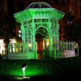 Navidad láser RGB estrella de movimiento ligero de iluminación al aire libre con el mando inalámbrico a distancia para el jardín del patio trasero del árbol