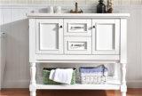 Festes Holz-klassische Entwurfs-Ausgangsschrank-Eitelkeits-Antike-Badezimmer-Möbel