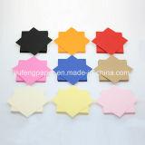 Papel teñido el 100% nativo de gama alta de Handmake del papel del color de la pulpa de madera