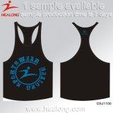 Gilet de la formation de vêtements de sport de Healong des hommes populaires de sublimation