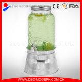 Erogatore di vetro personalizzato dell'acqua fredda