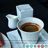 Base de caseinato de sódio na mistura de café não creme de leite e leite