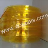 Gewellter Gelb Belüftung-Streifen-Vorhang für Lebensmittelindustrie