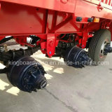 de 2axle 40FT do esqueleto do recipiente reboque Semi