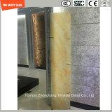 branco de 4.38mm-52mm/cinzento desobstruído/azul/amarelo/PVB de bronze, vidro laminado da segurança de Sgp com o certificado de SGCC/Ce&CCC&ISO para a divisória, balaustrada, etapa da escada, cerca