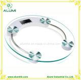 Le verre trempé balance de pesage à fonctionnement numérique avec écran LCD