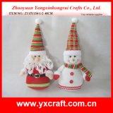 Het Stuk speelgoed van het Jonge geitje van Kerstmis van de Decoratie van de Kerstman van Doll van de Gift van Kerstmis