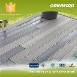 Saca el Decking de WPC/el material de construcción compuesto plástico de madera impermeable