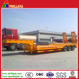 工学機械装置の輸送の三車軸Lowbedのトレーラー