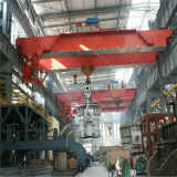Pont roulant de double du faisceau 300/40t de QD passerelle modèle de bride de fixation avec les machines de levage d'élévateur électrique pour l'atelier
