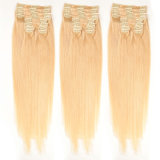 Virgin Remy Clip Hair Extension / 100 Human Hair