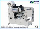 자동적인 Flexo 레이블 코팅 기계 (WJRS-350)