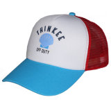 Cappello del camionista della maglia della gomma piuma di marchio stampato commercio all'ingrosso