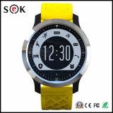 Impermeable del deporte elegante reloj deportivo con Piscina monitor de frecuencia cardiaca de apoyo
