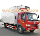 Camión frigorífico furgón/enfriador de leche y verduras frescas