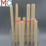 tubo di ceramica di protezione della termocoppia dell'allumina di 1000mm