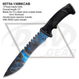 Crânio Camo Blade Fixed Blade Hunting Survival Knife