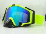 Beschermende brillen van de Motocross van de Glazen van de Ski van de Kras van het AntiEffect van de Lens van PC de Anti