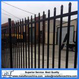Sicherheits-Stangen-Oberseite-Stahlzaun-Panels