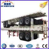 반 고품질 2axle 트럭 트레일러 제조자 인기 상품 평상형 트레일러 콘테이너 정력 트레일러