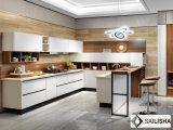 Hotel Casa moderna de la isla de cocina Muebles de madera armario