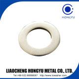 Acier inoxydable de la rondelle DIN9021 plate, jaune de zinc d'acier du carbone. HDG