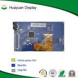 5 visualización redonda de la pulgada TFT LCD con el panel de tacto