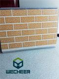 セリウムSGSのISO標準の浮彫りにされた金属のDecoration&Heatの絶縁体の外部壁パネル