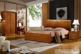 Hölzerne Schlafzimmer-Möbel, Bett-seitliche Tabelle, Aufbereiter, Bett (6013)