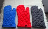 Resistente al calor de algodón de seguridad Guantes de horno de microondas