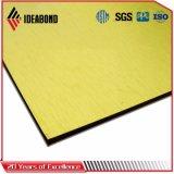 황금 금속 PVDF 외부 벽 알루미늄 클래딩 위원회 (AF-401)