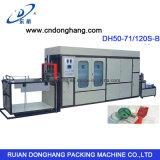 Máquina de formação de vácuo para bandejas de alimentos plásticos