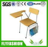 メモ帳が付いている現代普及した学校学生の椅子