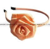 SpitzeBowknotgrosgrain-Farbband mit Rosen-Stirnband