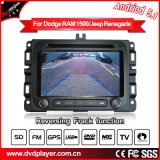 "7""Antirreflexo Carplay Android Market 7.1 DVD estéreo para automóvel para Jeep Renegade Car Audio Player com conexão WiFi Hualingan"