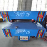 Batteriebetriebenes Kpx 50t motorisierte Ring-Übergangskarre auf Schienen