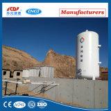 tanque de armazenamento criogênico do vácuo 25m3 para o argônio líquido do oxigênio do CO2