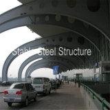 空港ホールのための鉄骨フレームのプレハブの建物