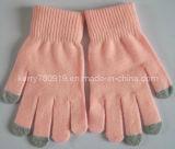 Акрил нажмите перчатки с токопроводящими пальцев для iPhone