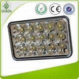Cuadrado barato 45W de la alta calidad de la luz del trabajo del precio LED