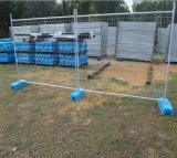 L'Australie a galvanisé la clôture provisoire de maillage de soudure