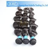Extensiones brasileñas 100% del pelo de la onda de la carrocería del pelo humano de la Virgen (KBL-BH-BW)
